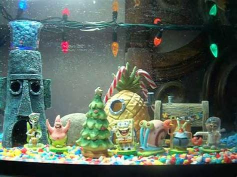 spongebob fish aquarium decorations spongebob aquarium