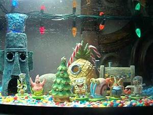 christmas decorations for fish tanks