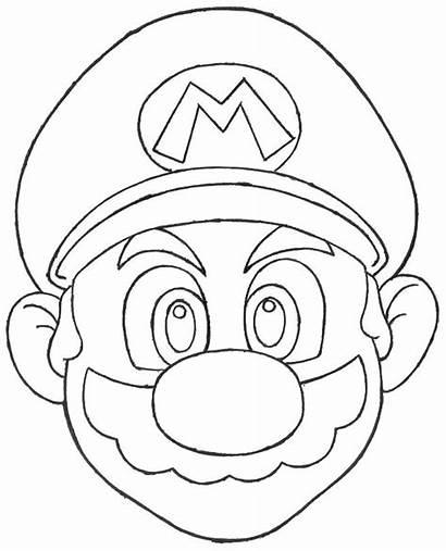 Mario Mushroom Coloring Pages Goomba Super Kingdom