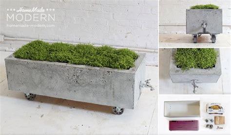 Beton Blumentopf Diy by 15 Einfache Diy Projekte Mit Beton Diy Blumentopf