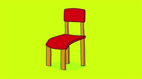 dessin chaise apprendre à dessiner une chaise