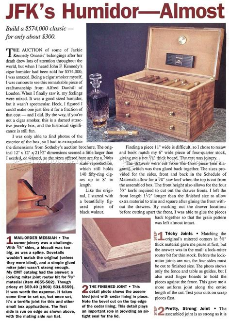 cigar humidor plans woodworking plans humidor plans