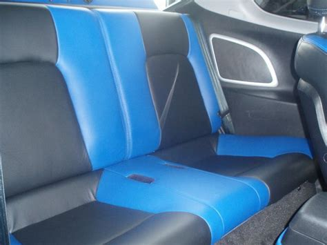 Hyundai Tiburon Seat Covers by Hyundai Tiburon Tuscani Interior Black And Blue Seats