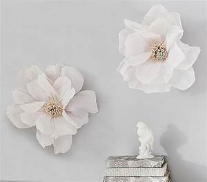 Crepe Paper Flower Decor Set of 2 Pottery Barn Kids
