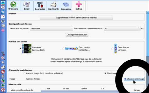 comment choisir fond d 233 cran avec ordissimo v1 fiches pratiques ordissimo ordissinaute