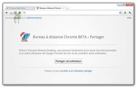 bureau à distance chrome beta ginjfo