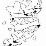 Arrow Bow Coloring Pages Heart Cupid Getcolorings Hellokids Hearts Cherub sketch template
