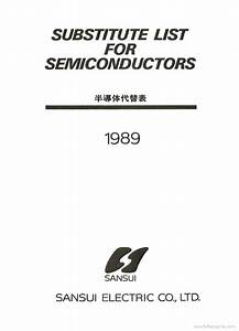 Sansui Substitute List For Semiconductors Component Guide