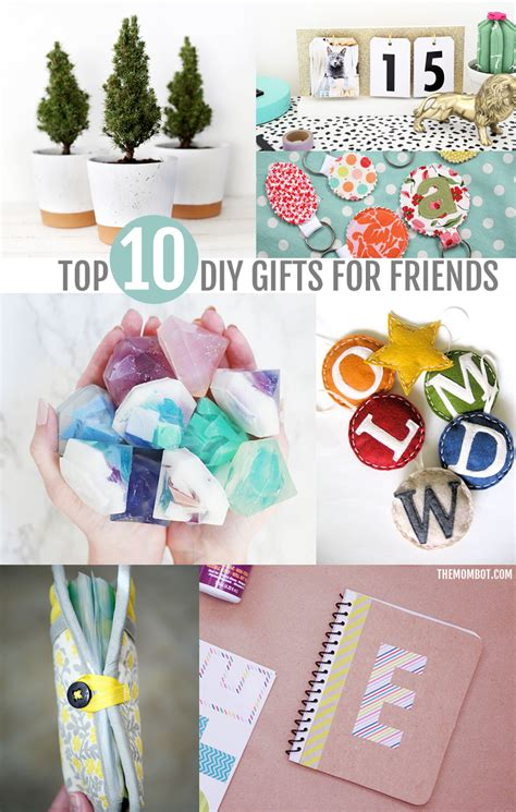 gifts for friends diy diy gifts for friends neighbors coworkers the mombot Diy