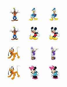 Mickey Mouse Clubhouse edible cupcake toppers | eBay
