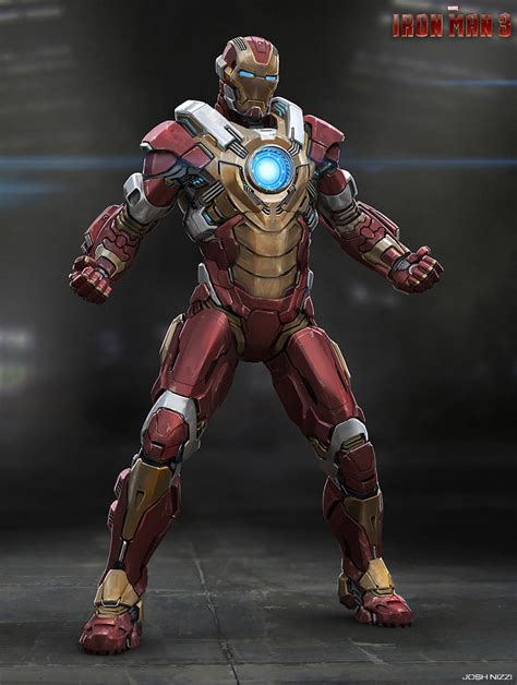 Iron Man Artwork by Iron Man 3 Concept Art By Josh Nizzi Concept Art World