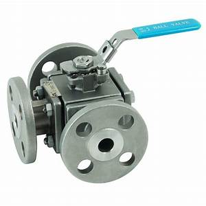 Stainless Steel Ball Valves - 3 Way Manual