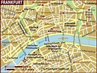 Map of Frankfurt