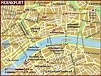 Map of Frankfurt