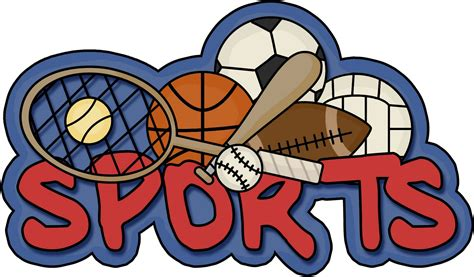 words clipart sports