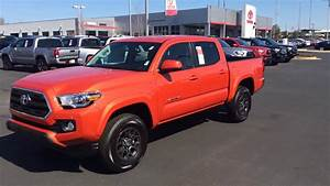 Toyota Tacoma Inferno Orange