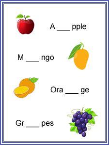 english worksheets  kindergarten