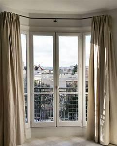 Rideau Baie Vitree : rideau pour baie vitr e coulissante rideau pour baie ~ Premium-room.com Idées de Décoration