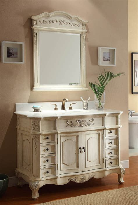 guide  antique white vanities interior decorating