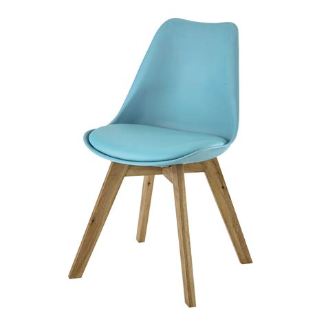 maisons du monde chaise scandinavian style chair in blue maisons du monde