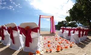 wedding in hawaii hawaii weddings custom designed alters on oahu
