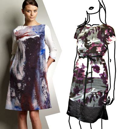 luxe   brushstroke print dress  budget babe