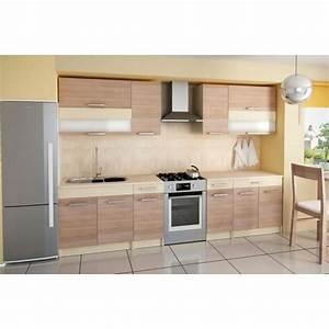 Cuisine En Bois Pas Cher : cuisine bois moderne pas cher ~ Premium-room.com Idées de Décoration