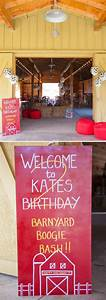 {BN Black Book of Parties} Barnyard Boogie Birthday Bash ...