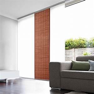 Store Enrouleur Bois : panneau japonais tamisant bois tiss ~ Premium-room.com Idées de Décoration