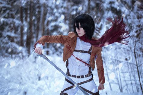 popular attack  titan characters cosplay rolecosplay