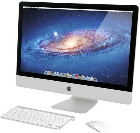 apple imac me088f a 27 pouces me088f a achat ordinateur de bureau grosbill