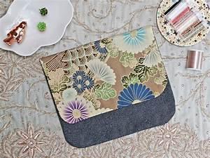 Pochette En Tissu : diy pochette en tissu japonais et coutures invisibles ~ Farleysfitness.com Idées de Décoration