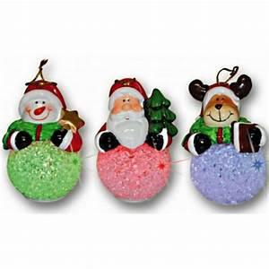 Mini Boule De Noel : 1 boule de noel lumineuse pere noel renne bonhomme de neige achat vente boule de no l ~ Dallasstarsshop.com Idées de Décoration