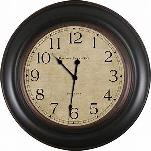 Shop allen + roth Analog Round Indoor Wall Clock at Lowes com