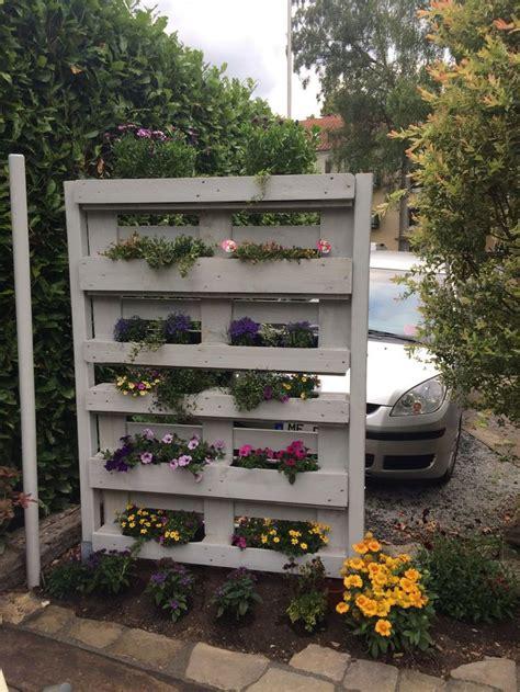 Sichtschutz Garten Paletten by 13 Besten Sichtschutz Paletten Bilder Auf