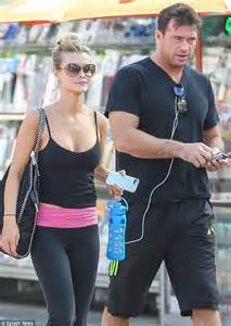 Joanna Krupa Shows Off Cleavage Stepping Out For Workout