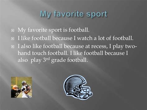 Sport Is My connor s favorite things