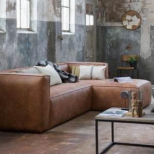 Sofa Leder Cognac : eckgarnitur bean leder cognac couch sofa ecksofa ledercouch longchair rechts decor and design ~ Eleganceandgraceweddings.com Haus und Dekorationen