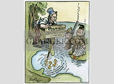 Image of MONROE DOCTRINE CARTOON 'Just So There'll Be