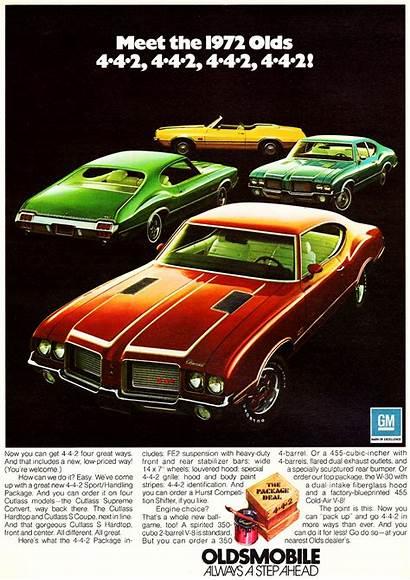 Oldsmobile 1972 Ad Cutlass Classic 1971 Cars