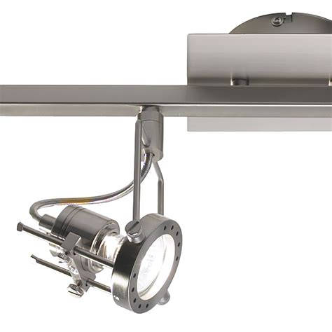bauhaus led len bauhaus satin chrome 4 light spotlight bar