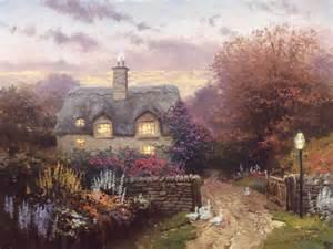 Thomas Kinkade Open Gate Sussex Print
