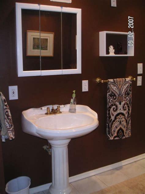 chocolate brown bathroom ideas chocolate brown bathroom build a bathroom a bedroom