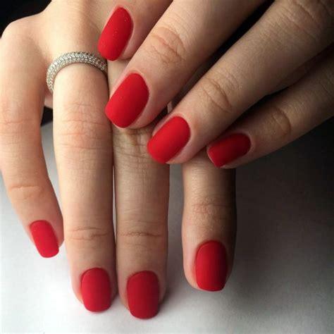 39 фото красный френч на ногтях с рисунком и дизайном