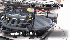 Replace A Fuse 2000 2005 Dodge Neon 2001 Dodge Neon 2 0l 4