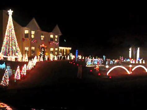 best christmas synchronized light show youtube
