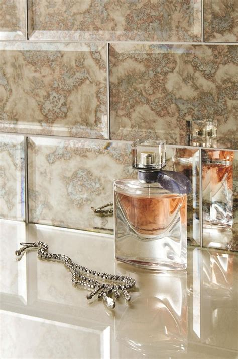glass bevel metrosubway tiles feature  striking antique