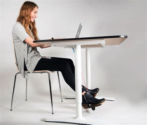 leg rest for desk hovr footrest helps you move without leaving your
