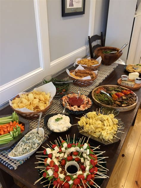 Housewarming Party Spread Its Good To Be The Cook
