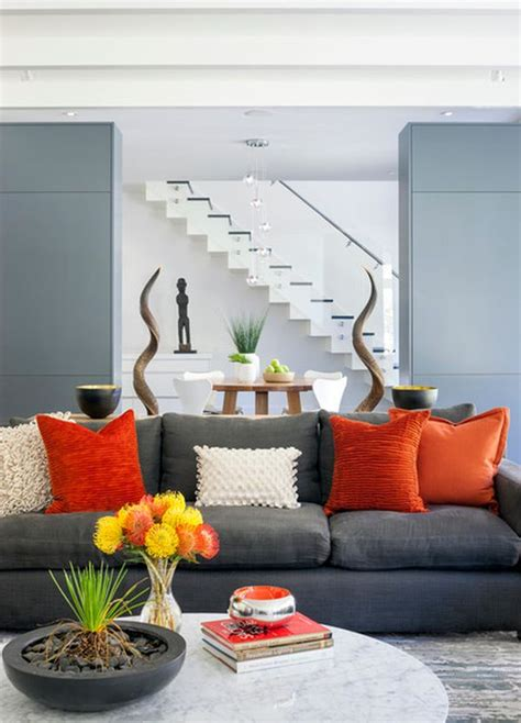 grey sofa decor choose the right sofa color for your living room